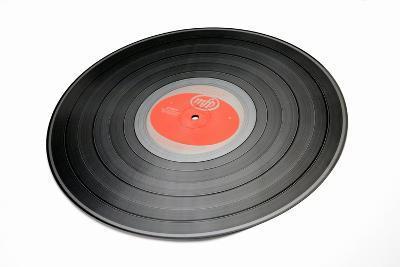 Vinyl Record-Victor De Schwanberg-Photographic Print