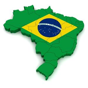 3D Map Of Brazil by vinz89
