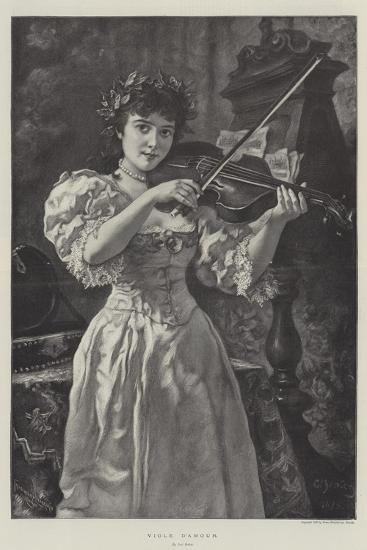 Viole D'Amour-Carl Ludwig Friedrich Becker-Giclee Print