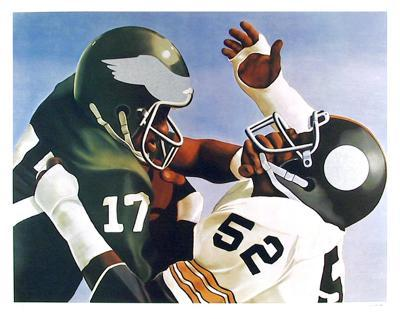 Violence in Pro Football-Robert Lambaise-Limited Edition