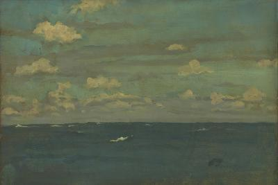 Violet and Silver - the Deep Sea, 1893-James Abbott McNeill Whistler-Giclee Print