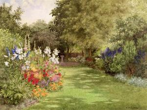 A Garden in July, c.1910 by Violet Common