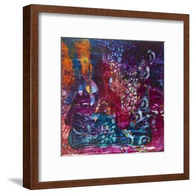 Violet Dream-Alise Loebelsohn-Framed Art Print