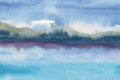 Violet Reflection III-Chris Paschke-Art Print