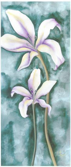 Violet Triptych III-Villalba-Art Print