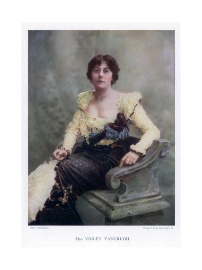 Violet Vanbrugh, English Actress, 1901-Window & Grove-Giclee Print