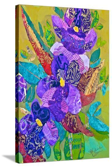 Violets--Stretched Canvas Print