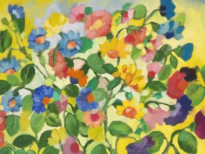 Violets-Kim Parker-Giclee Print