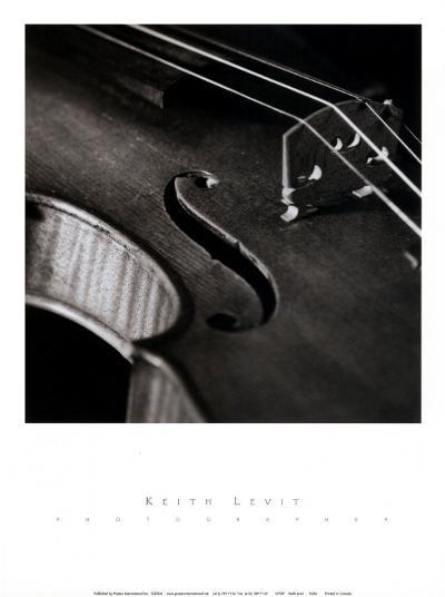 Violin-Keith Levit-Art Print