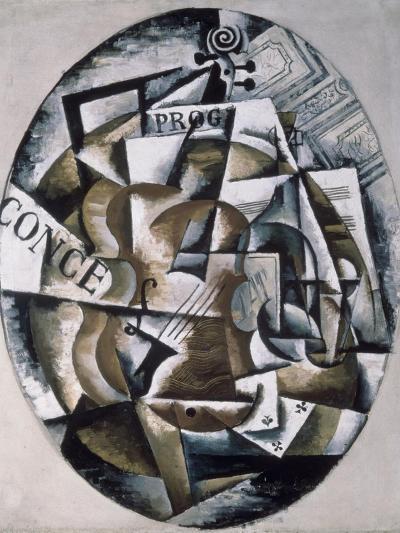 Violin-Liubov Sergeevna Popova-Giclee Print