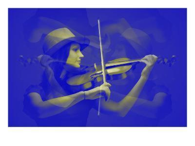 Violinist-NaxArt-Art Print