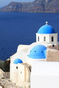 Classical Church of Santorini Island in Greece by viperagp