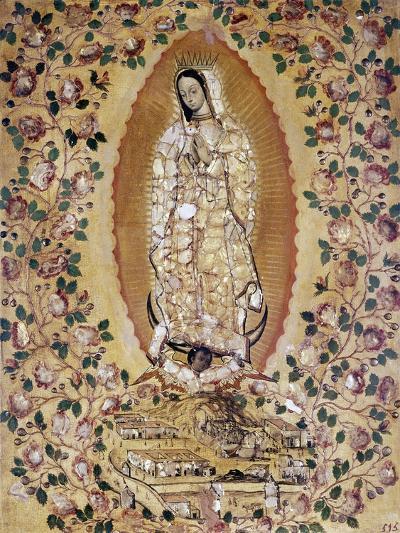 Virgen de Guadalupe, 1697-Juan y Miguel González-Giclee Print