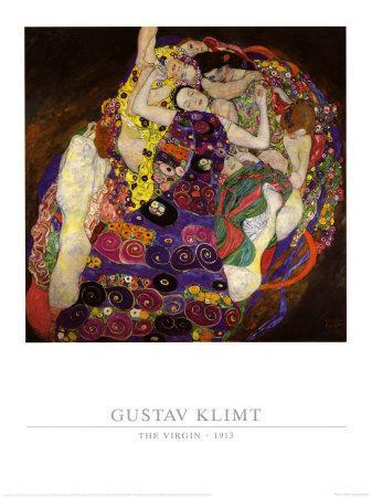 Virgin, 1913-Gustav Klimt-Art Print