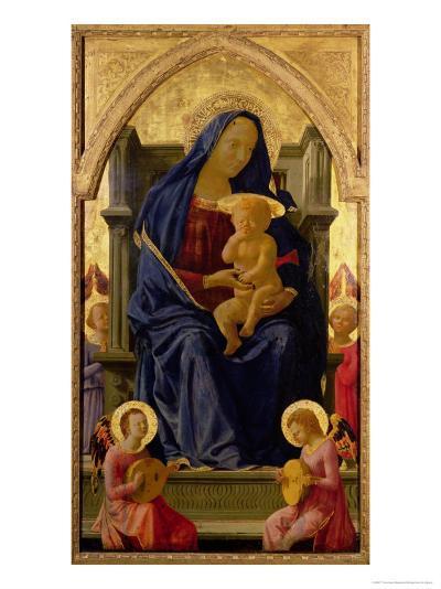 Virgin and Child, 1426-Tommaso Masaccio-Giclee Print