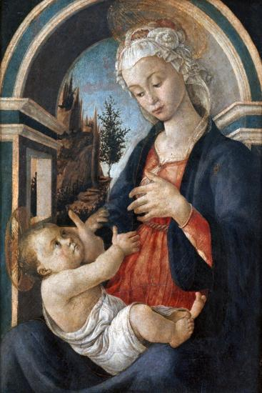 Virgin and Child, C1444-1510-Sandro Botticelli-Giclee Print