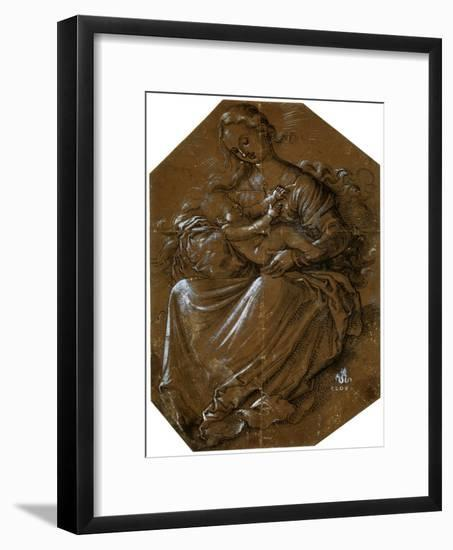 'Virgin and Child', c1500-1545-Hans Baldung-Framed Giclee Print