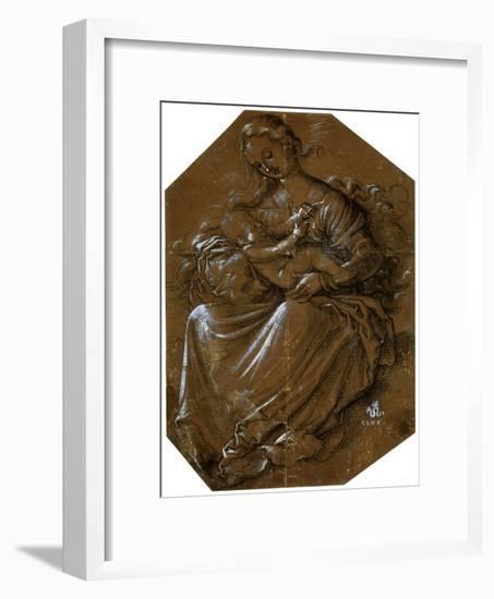 'Virgin and Child', c1500-1545-Hans Baldung-Framed Giclee Print