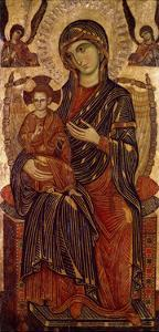 Virgin and Child Enthroned, C1280