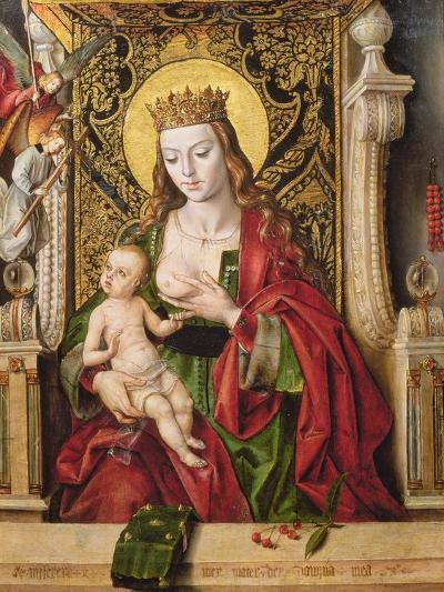 Virgin and Child (Panel)-Alonso Berruguete-Giclee Print