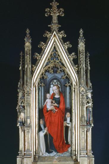 Virgin and Child, St Ursula Shrine, 1489-Hans Memling-Photographic Print