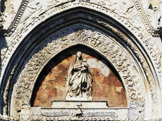 Virgin and Child Statue, by Pietro De Bonitate--Giclee Print