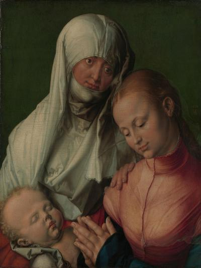Virgin and Child with Saint Anne, c.1519-Albrecht D?rer or Duerer-Giclee Print