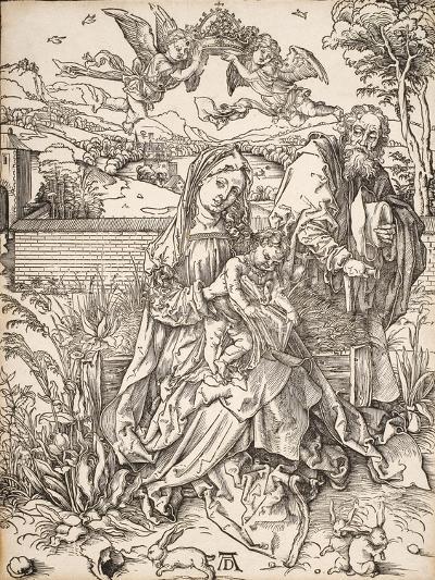 Virgin and Child with St. Joseph-Albrecht D?rer-Giclee Print