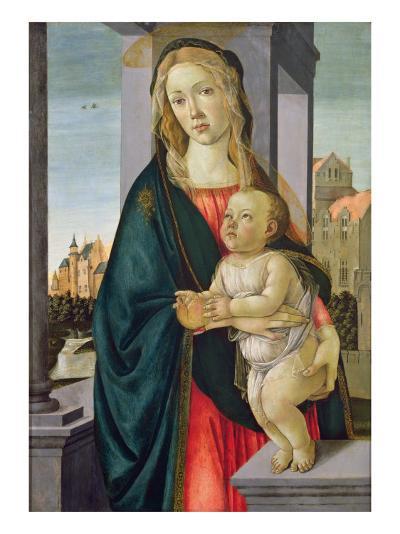 Virgin and Child-Sandro Botticelli-Giclee Print
