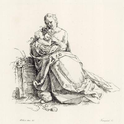 Virgin and Child-Albrecht D?rer-Giclee Print
