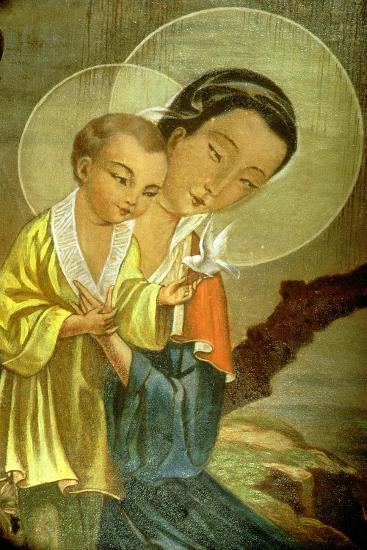 Virgin and Child--Giclee Print