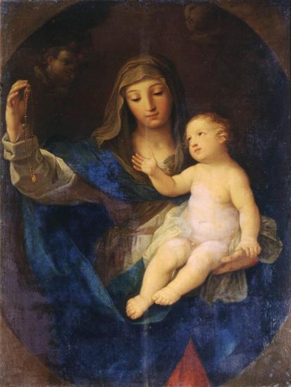Virgin and Child-Guido Reni-Giclee Print