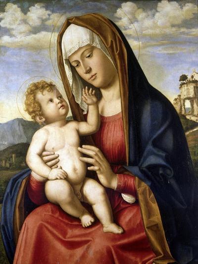 Virgin and Child-Giovanni Battista Cima Da Conegliano-Giclee Print