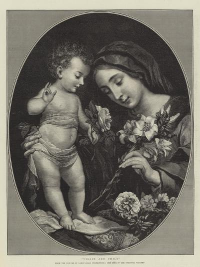 Virgin and Child-Carlo Dolci-Giclee Print
