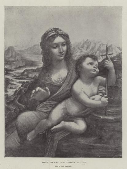 Virgin and Child-Leonardo da Vinci-Giclee Print