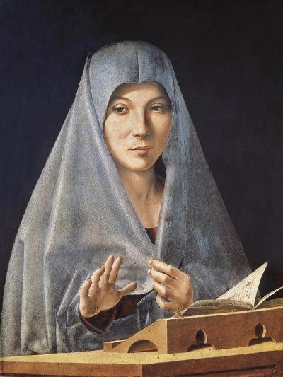 Virgin Annunciate-Antonello da Messina-Art Print
