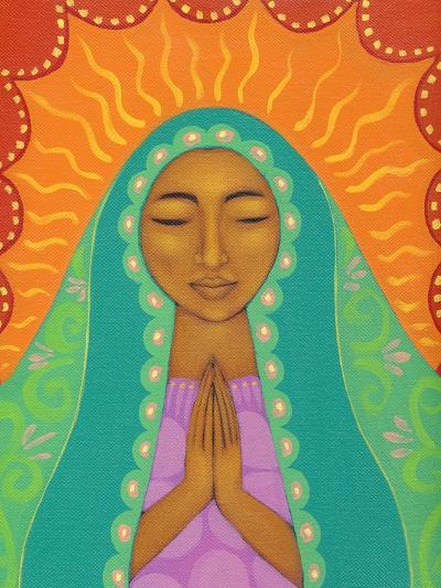 Virgin de Guadalupe-Tamara Adams-Art Print