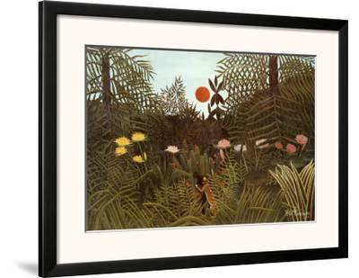 Virgin Forest-Henri Rousseau-Framed Art Print