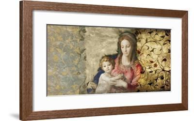 Virgin Mary (After Bronzino)-Simon Roux-Framed Art Print