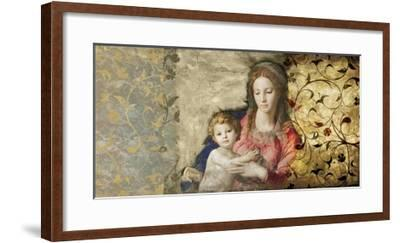 Virgin Mary (After Bronzino)-Simon Roux-Framed Art Print