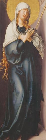 Virgin Mary with Sword-Albrecht D?rer-Giclee Print