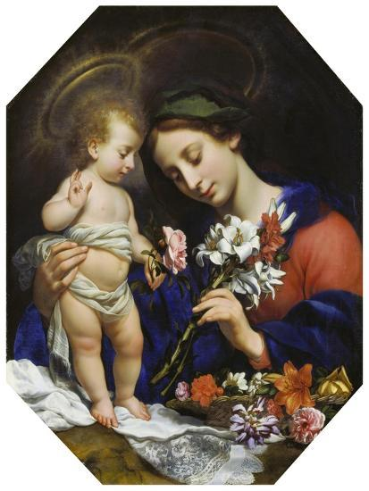 Virgin Mary with the Infant Christ, 1649-Carlo Dolci-Giclee Print