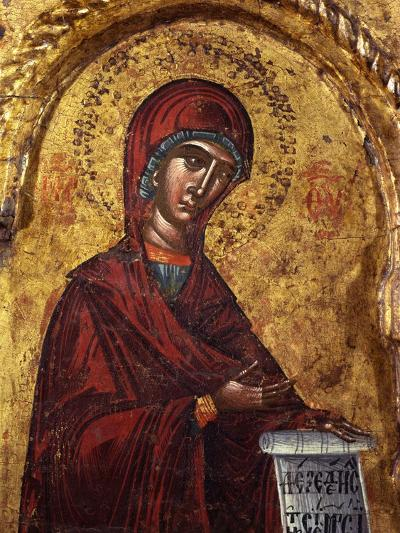Virgin Mary- Nicholas-Art Print