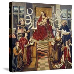 Virgin of Catholic Kings, 1490-1495