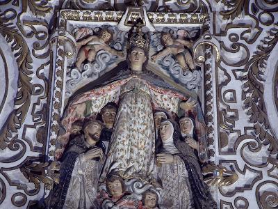 Virgin of Mercy, Detail from Saints of Paradise--Giclee Print