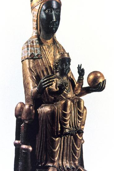 Virgin of Montserrat, Catalonia, Spain--Photographic Print