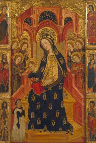 Virgin of the Angels-Enrique de Estencop-Giclee Print