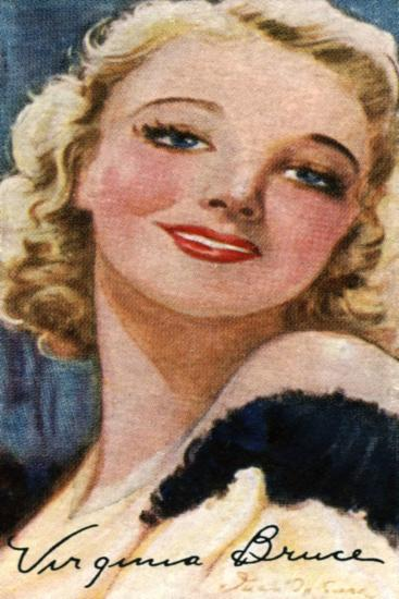 Virginia Bruce, (1910-198), American Actress and Singer, 20th Century--Giclee Print