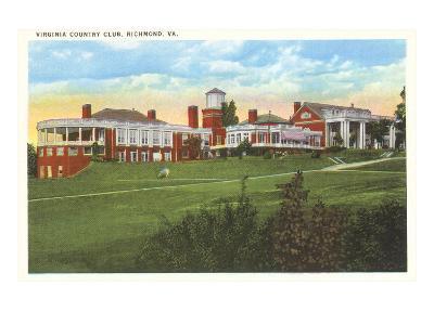 Virginia Country Club, Richmond, Virginia--Art Print