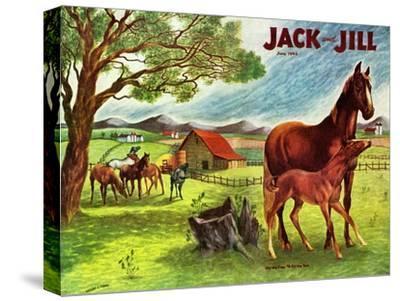 Horses - Jack and Jill, June 1946